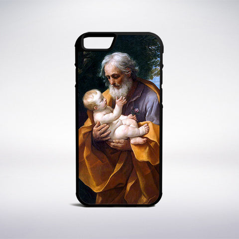 Guido Reni - Saint Joseph With The Infant Jesus Phone Case - Muse Phone Cases