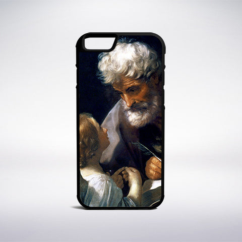 Guido Reni - Saint Matthew Phone Case - Muse Phone Cases