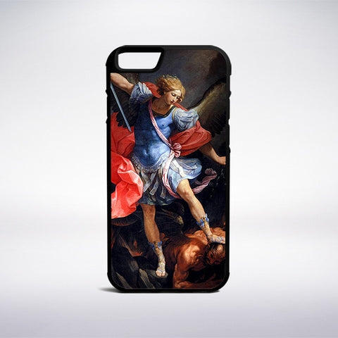 Guido Reni - The Archangel Michael Defeating Satan Phone Case - Muse Phone Cases