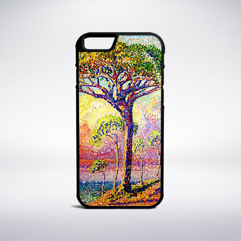 Henri-Edmond Cross - A Pine Tree Phone Case - Muse Phone Cases