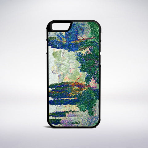 Henri-Edmond Cross - Les Cypres A Cagnes Phone Case - Muse Phone Cases