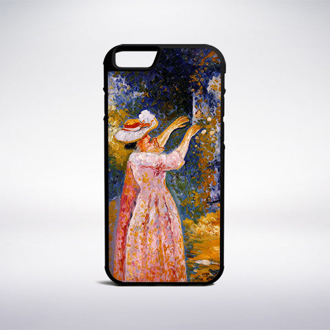 Henri-Edmond Cross - The Flowered Column Phone Case - Muse Phone Cases