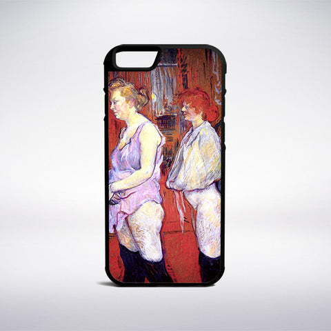 Henri De Toulouse-Lautrec - The Medical Inspection Phone Case - Muse Phone Cases