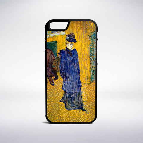 Henri De Toulouse-Lautrec - Jane Avril Leaving The Moulin Rouge Phone Case - Muse Phone Cases