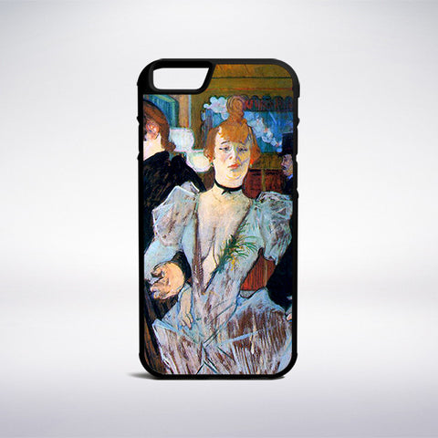 Henri De Toulouse-Lautrec - La Goulue Arriving At The Moulin Rouge Phone Case - Muse Phone Cases