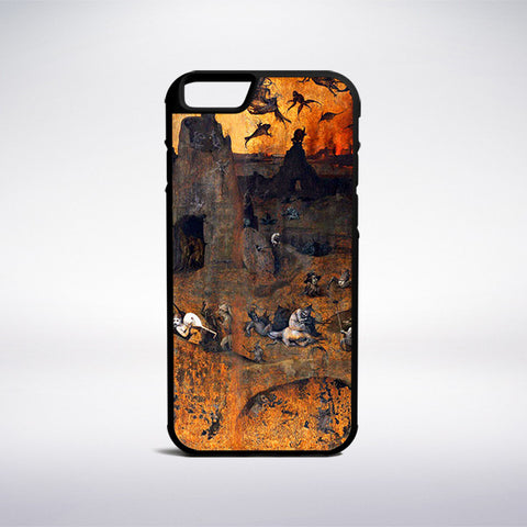 Hieronymus Bosch - The Hell And The Flood Phone Case - Muse Phone Cases