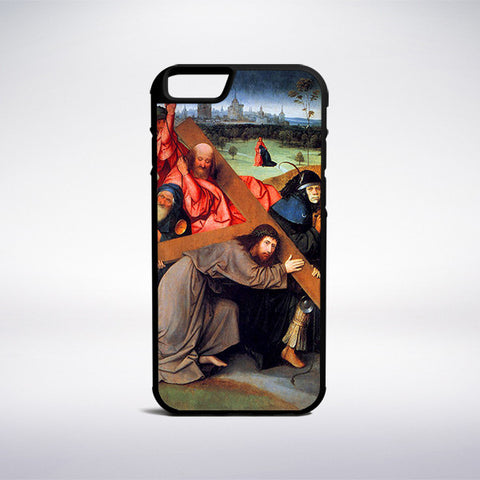 Hieronymus Bosch - Christ Carrying The Cross Phone Case - Muse Phone Cases