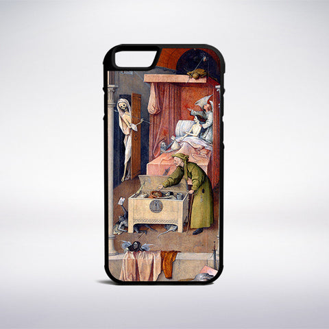 Hieronymus Bosch - Death And The Miser Phone Case - Muse Phone Cases
