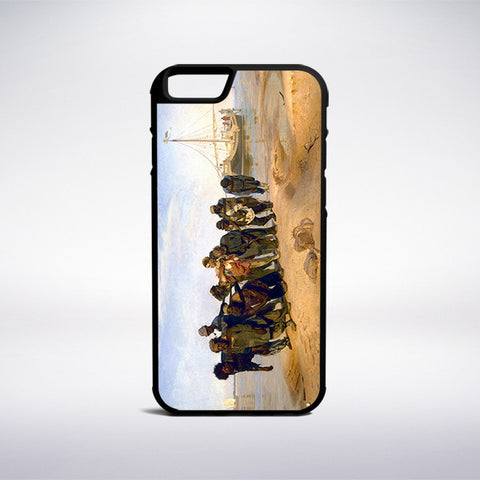 Ilya Repin - Barge Haulers On The Volga Phone Case - Muse Phone Cases