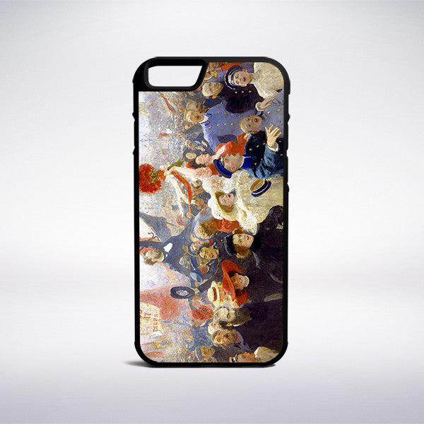 Ilya Repin - Demonstration On October 17 1905 Phone Case - Muse Phone Cases