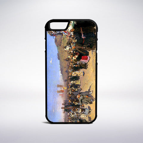 Ilya Repin - Easter Procession In Kursk Phone Case - Muse Phone Cases