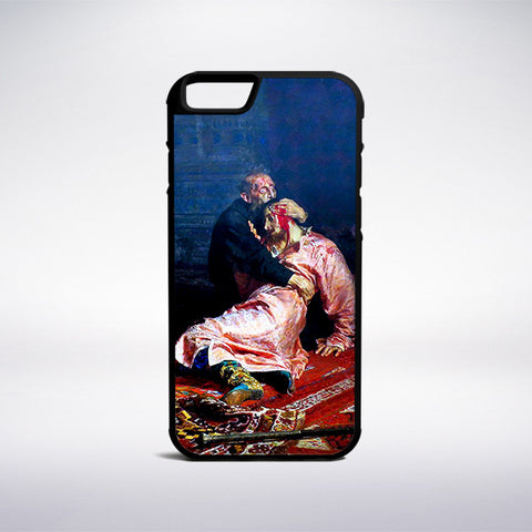 Ilya Repin - Ivan The Terrible And His Son Phone Case - Muse Phone Cases