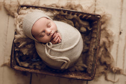 ANTIQUE BLUEBERRY BASKET - Megan Macdonald Photography - Newborn Photo Props Australia - Wood and Lace