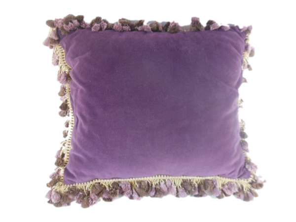 Century old silk petit point pillow of grapes