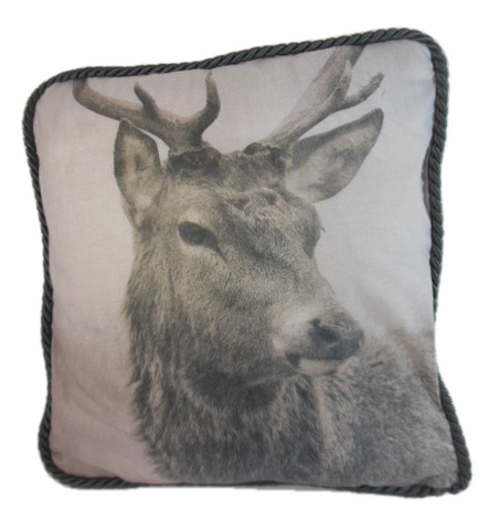 Deer image pillow