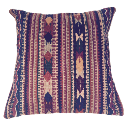 Mexican wool weaving pillow