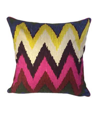 Flame pattern cotton pillow
