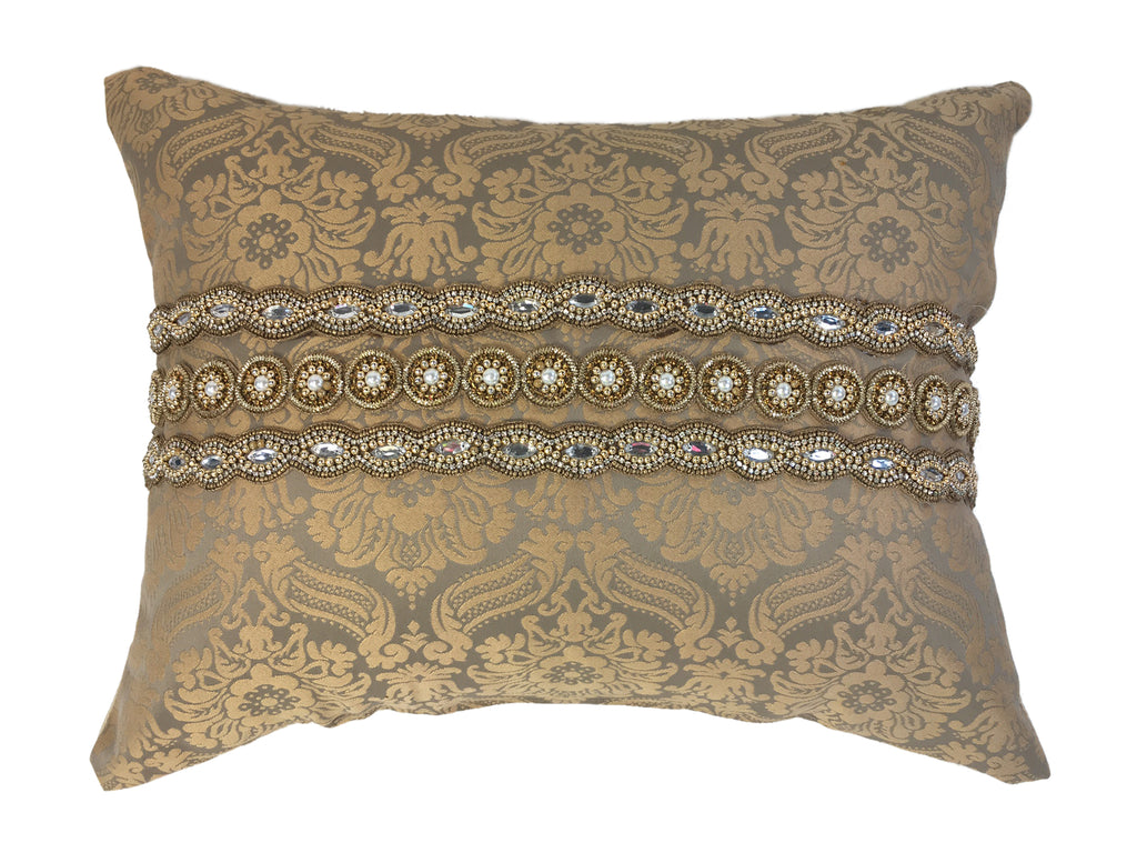 Dazzling and Bejeweled Pillow
