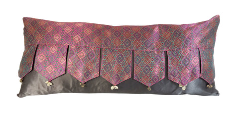 Indian Silk Valance Bolster