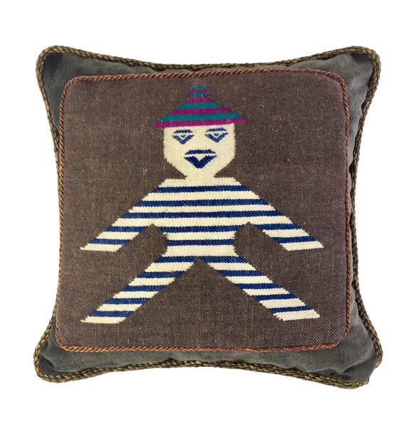 Aztec Figure Pillow