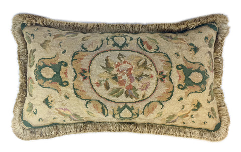 Traditional Needlepoint Bolster