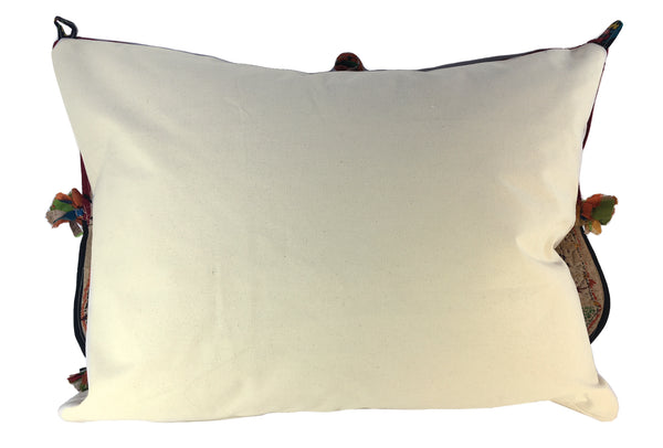 Global Folk Valance Pillow