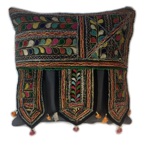 Ethnic, globally-inspired pillows