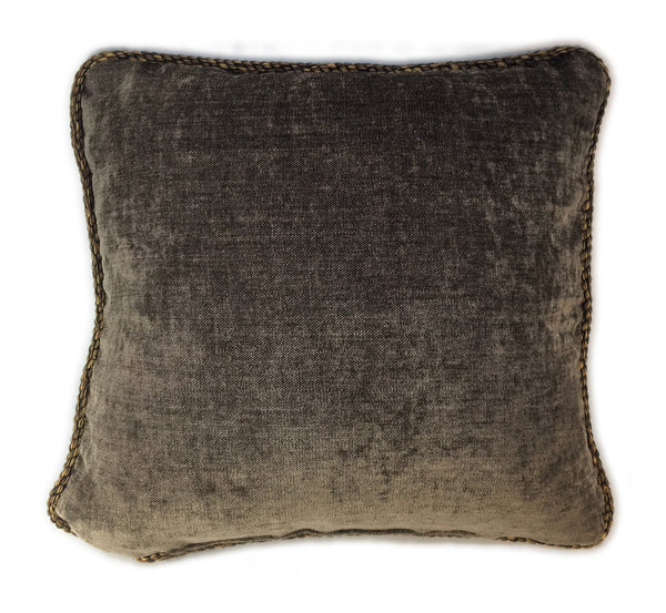 Antique Metallic Weaving Pillow