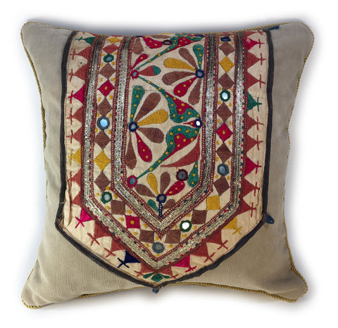 Exotic Handwoven Pillow