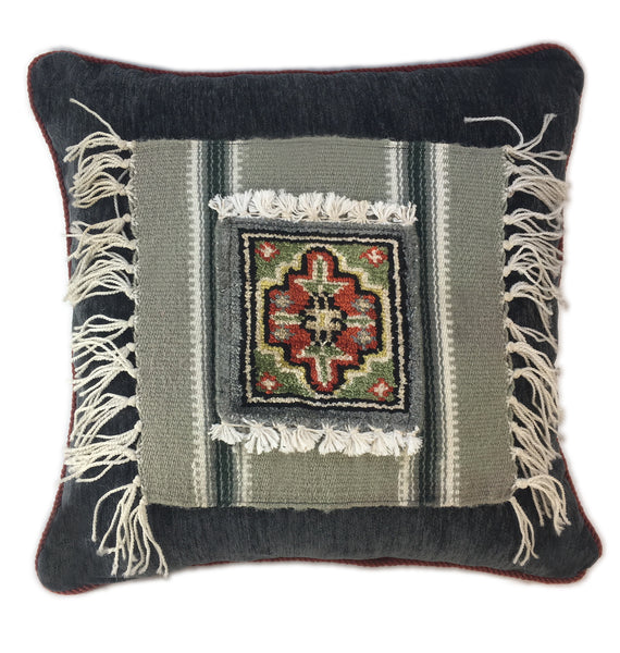 Southwest Indian Weaving Pillow