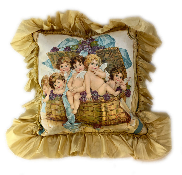 Adorable Angels Pillow