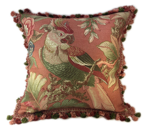 Glorious Parrot Pillow