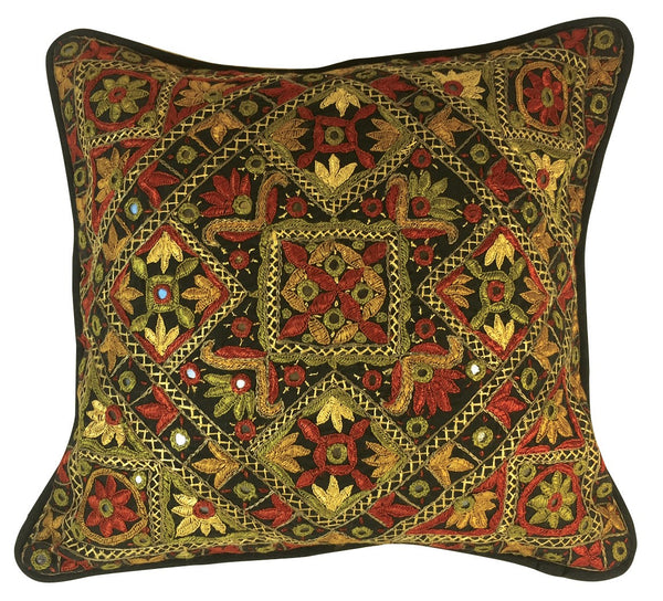 Ethnic Indian handwork pillow