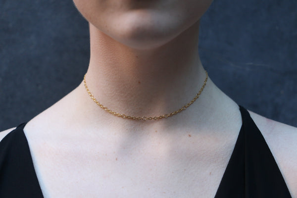 Oval & Cloud Choker