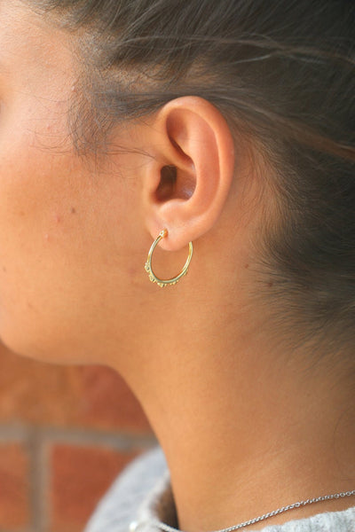 Vintage Gold Earring