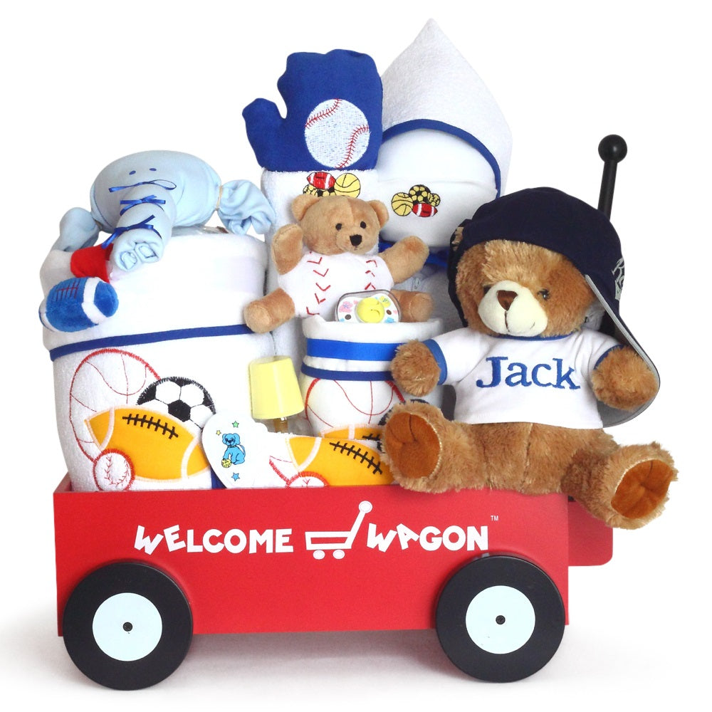 baby shower welcome wagons