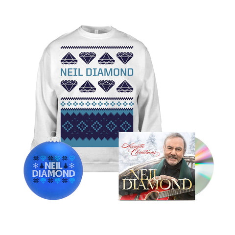Holiday Sweatshirt + CD + Holiday Ornament