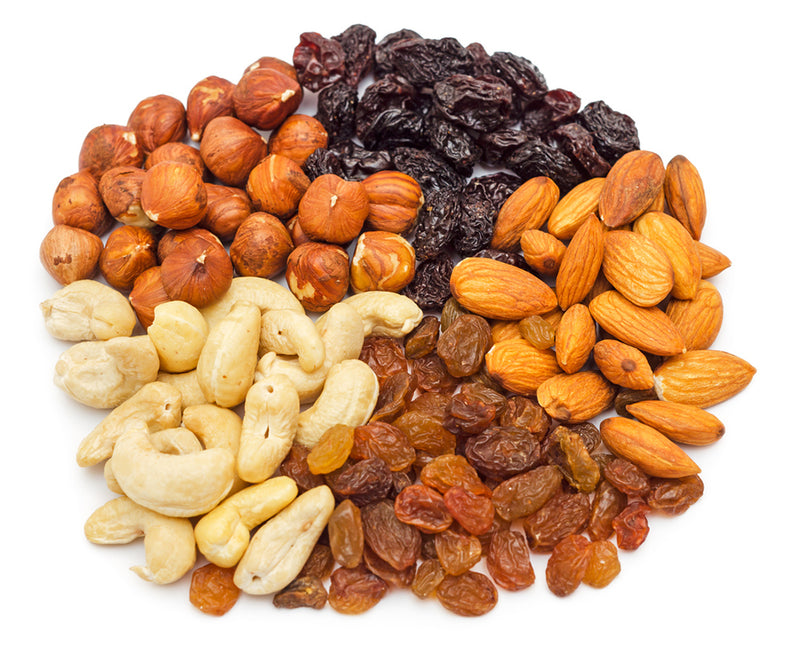 Candy, Dried Fruit and Nuts