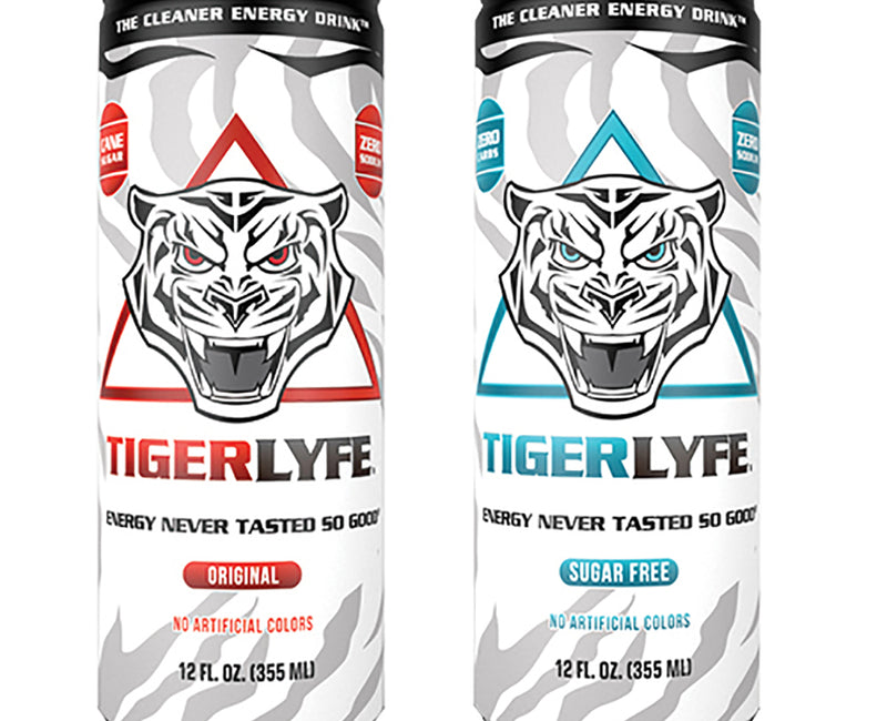 TigerLyfe Energy Drinks