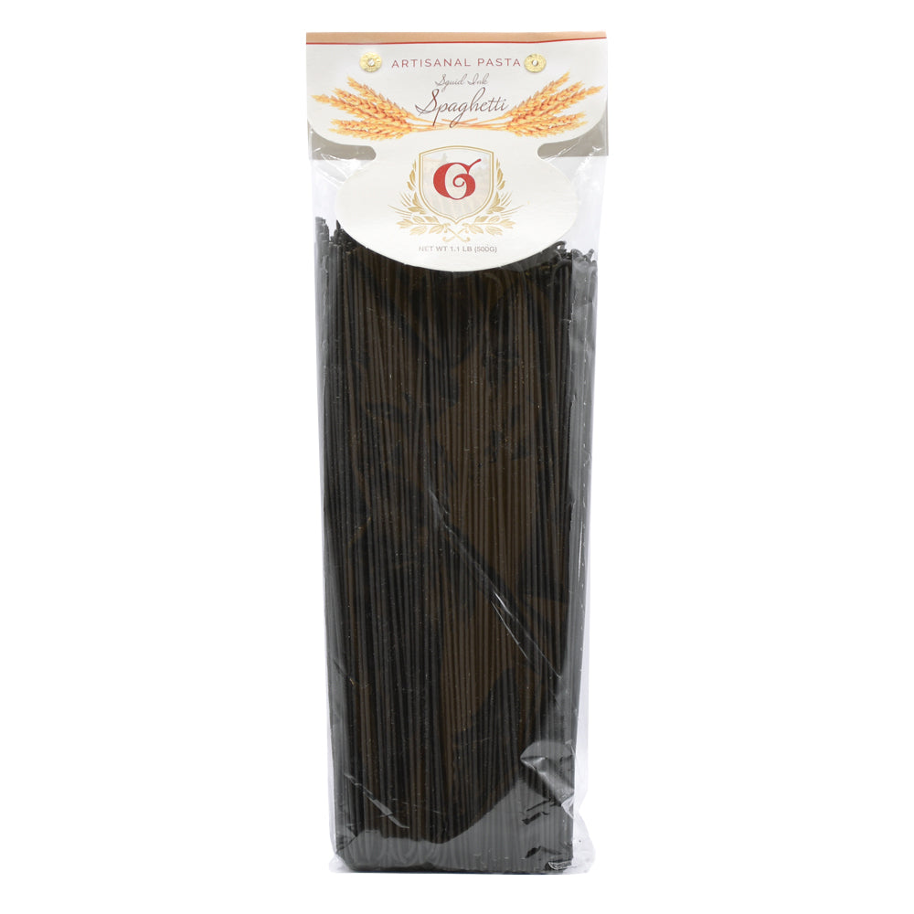 Uncle Giuseppe's Artisanal Squid Ink Spaghetti