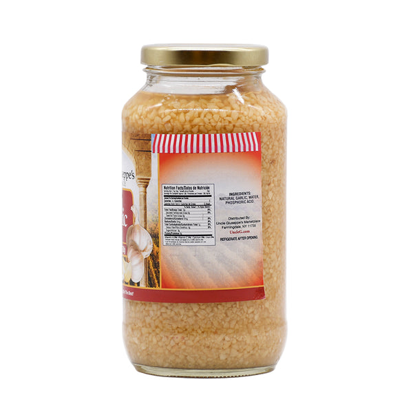 Uncle Giuseppe's Garlic in Water