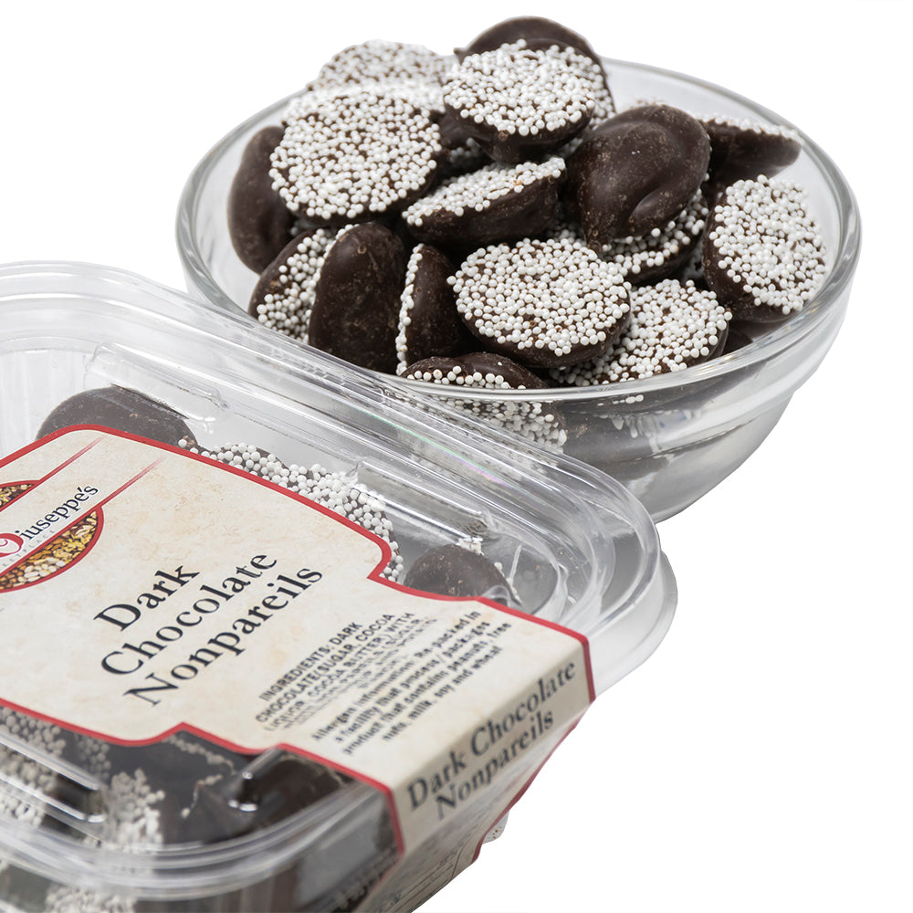 Dark Chocolate Nonpareils