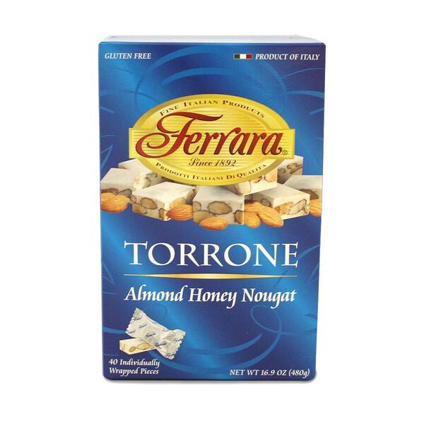 Ferrara Torrone (Almond Honey Nougat) - Uncle Giuseppe's