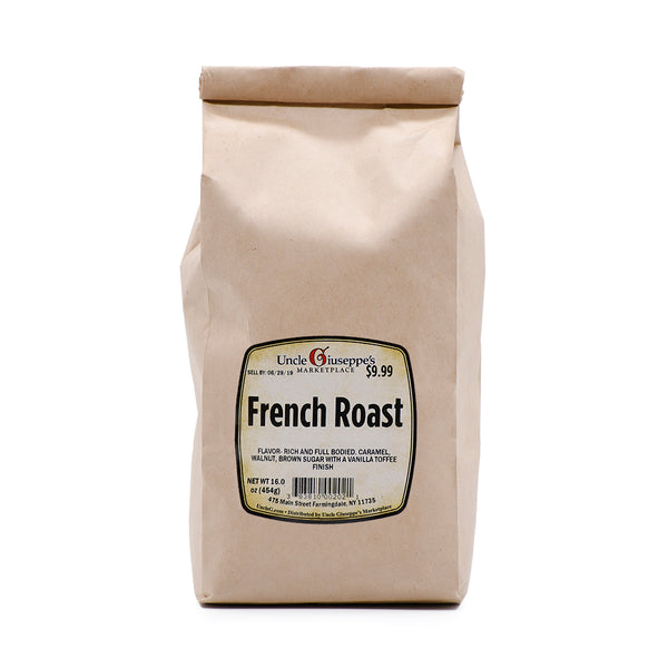 Uncle Giuseppe's Whole Bean French Roast Coffee