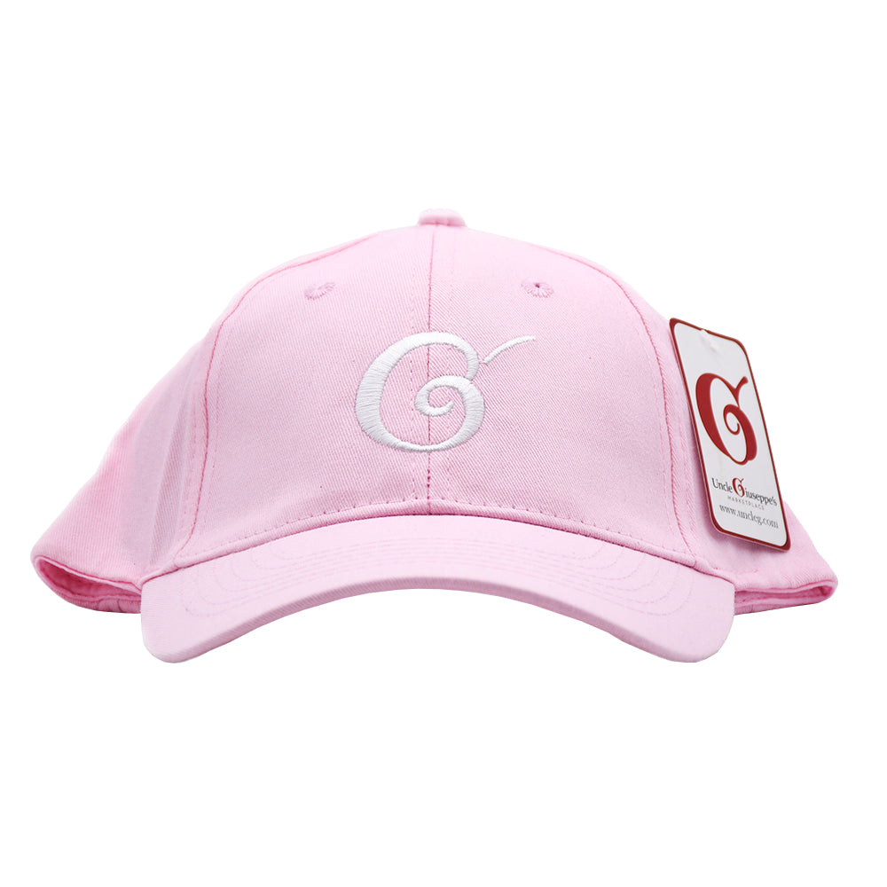 Uncle Giuseppe's Pink Logo Hat