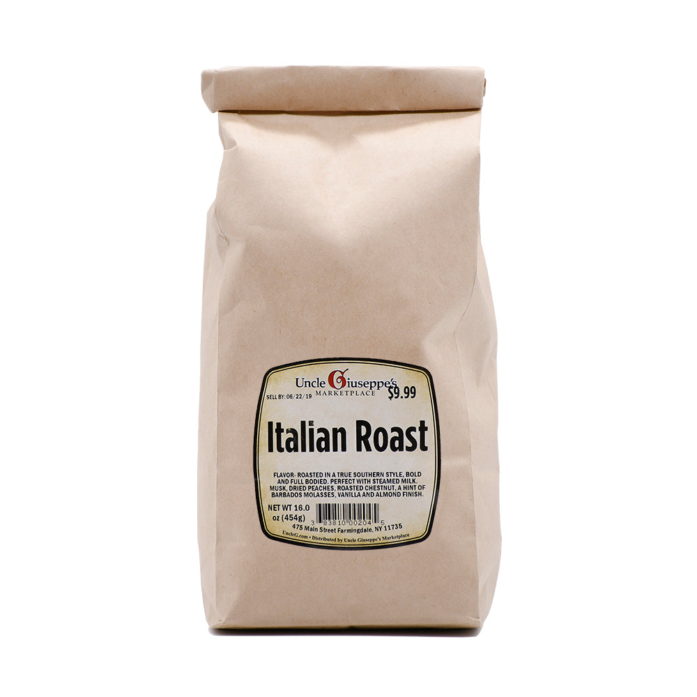 Uncle Giuseppe's Whole Bean Italian Roast Coffee