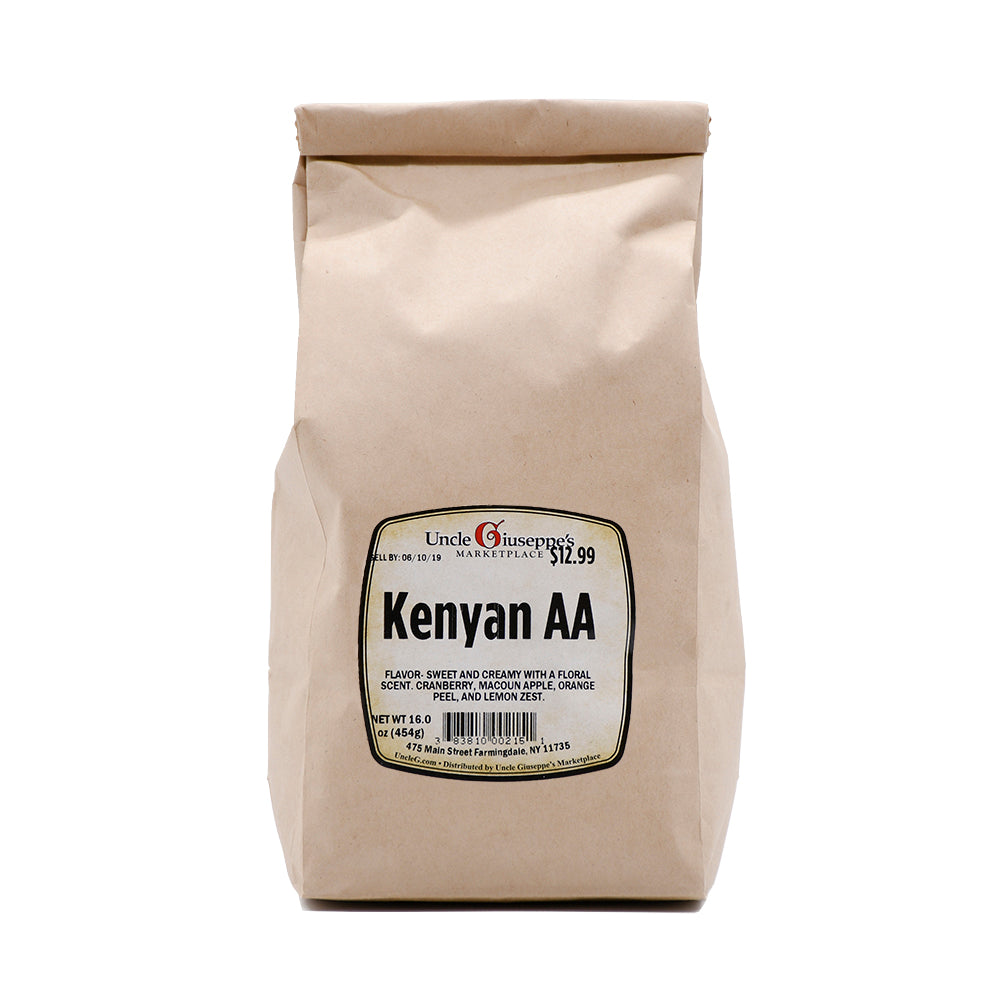 Uncle Giuseppe's Whole Bean Kenyan AA Coffee