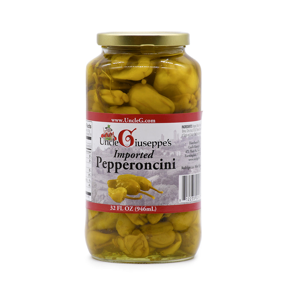 Uncle Giuseppe's Imported Pepperoncini