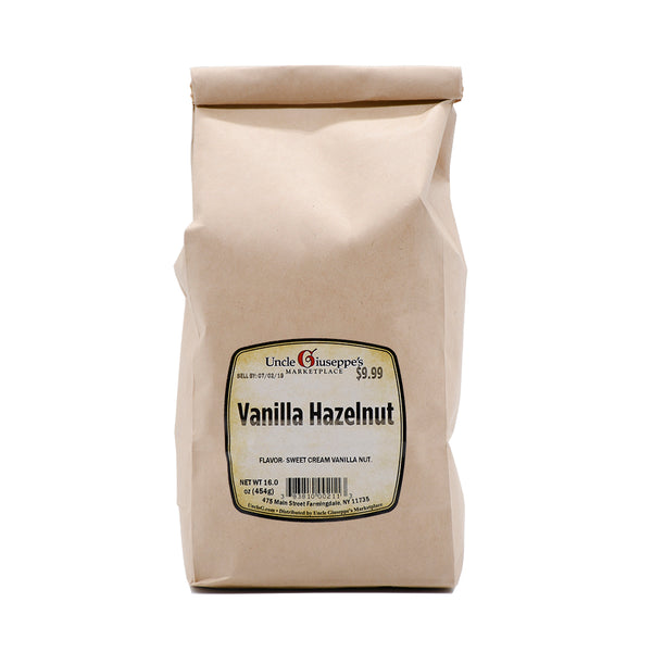Uncle Giuseppe's Whole Bean Vanilla Hazelnut Coffee