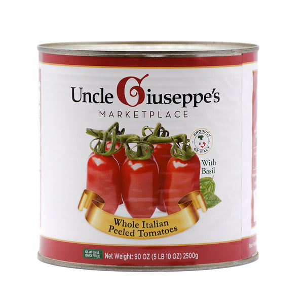 Uncle Giuseppe's Whole Italian Peeled Tomatoes 90oz